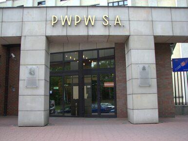 PWPW wydało oświadczenie. Dariusz Nowakowski i Bartłomiej Klinger...
