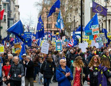 Brytyjczycy chcą nowego referendum ws. brexitu. Na ulice Londynu wyszło...