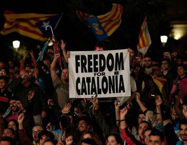 """Ostre oświadczenia po referendum w Katalonii. """"Będziemy używać prawa z..."""