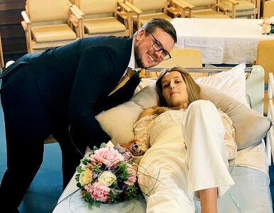 Pobrali się w szpitalu. Miesiąc później 25-latka zmarła....