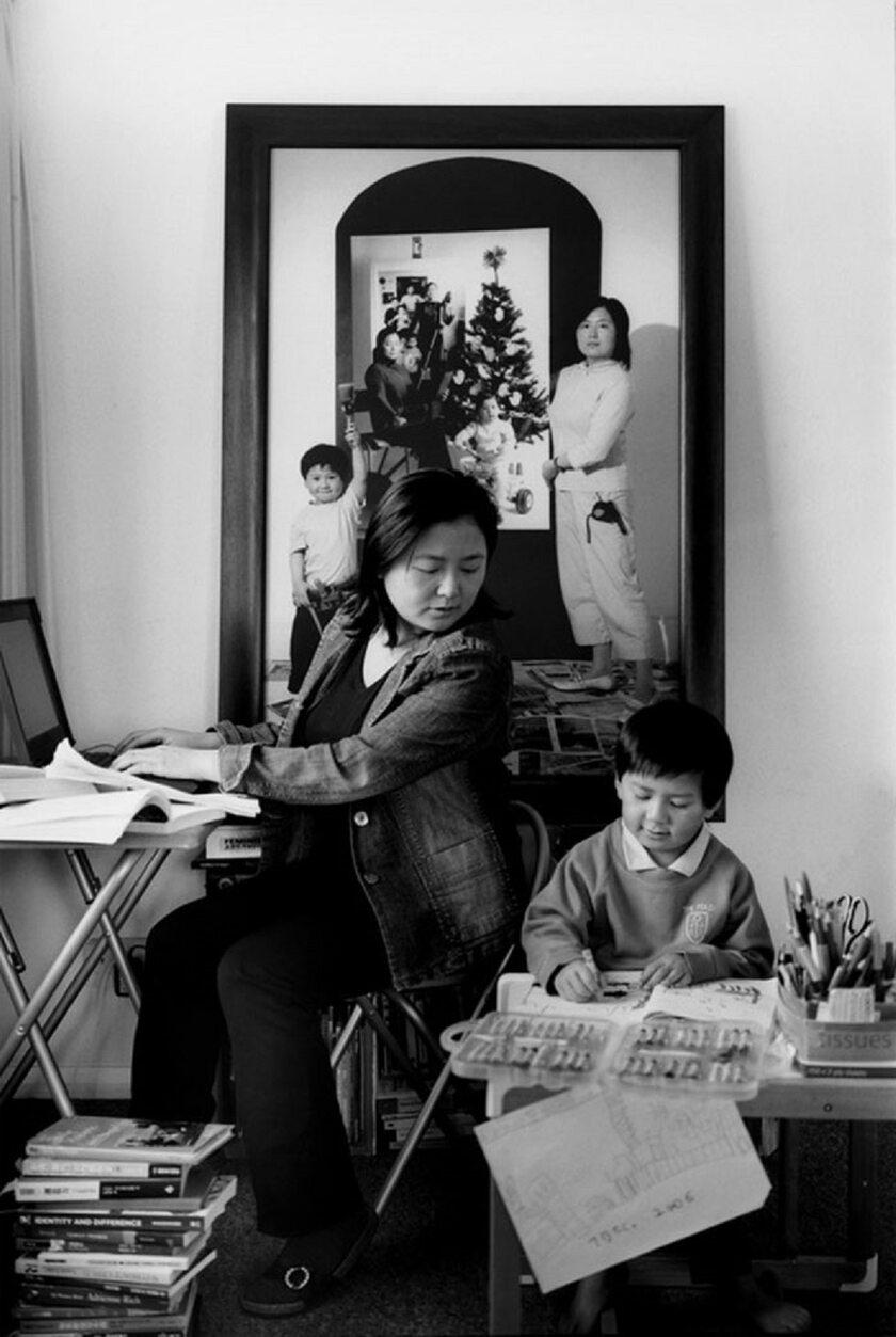 Zdjęcia przedstawiające rodzicielstwo autorstwa Annie Wang