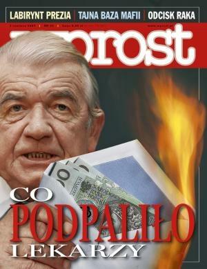 Okładka tygodnika Wprost nr 22/2007 (1275)