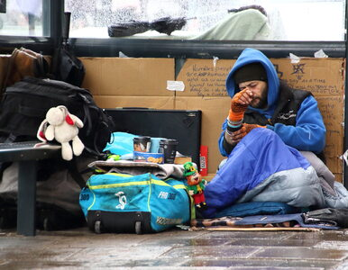 """Wielka Brytania skończy z bezdomnością już w tym tygodniu? """"To epokowy..."""