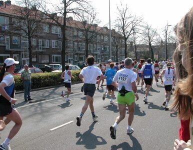 Maratończyk ukończył bieg i zmarł
