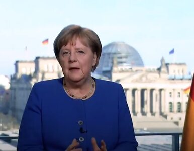 Merkel o koronawirusie: Od czasu drugiej wojny światowej nie było dla...