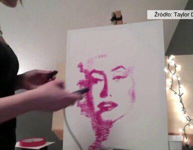Artystka... wycałowała portret Marylin Monroe. Dla sierot