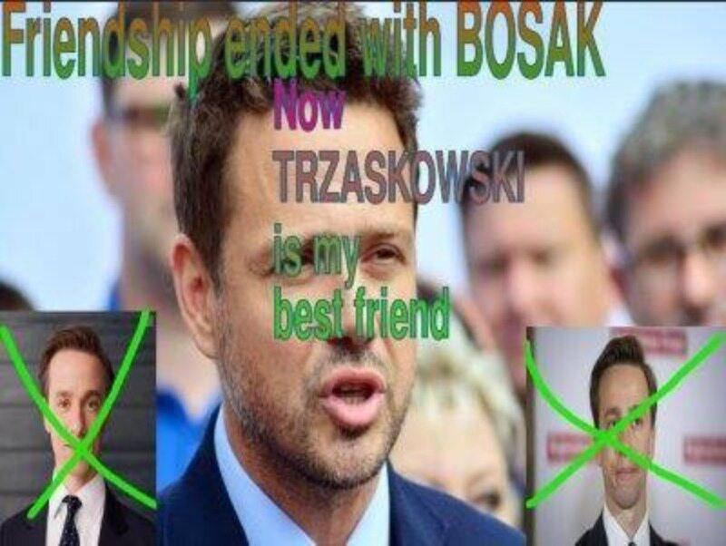 Mem po ogłoszeniu wyników I tury wyborów prezydenckich