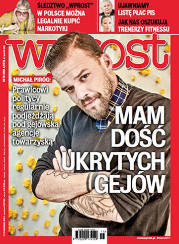 Okładka tygodnika WPROST: 15/2014