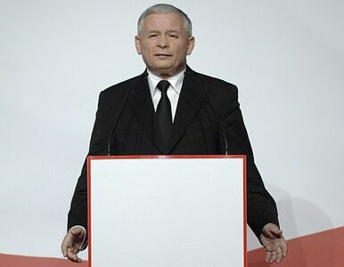 Kaczyński: liczymy na 29 punktów przewagi nad PO