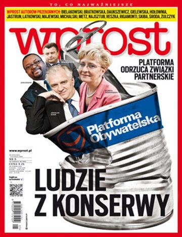 Okładka tygodnika Wprost nr 5/2013 (1562)