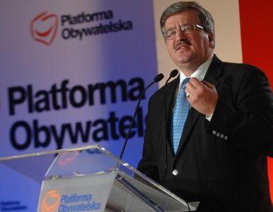 Komorowski o budowie Stadionu Narodowego: Widać mądre polskie budowanie