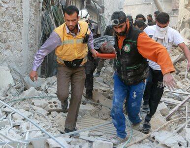 """Aleppo: Syryjski reżim przeprowadza ataki """"wszystkimi możliwymi..."""