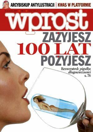 Okładka tygodnika Wprost nr 2/2007 (1255)