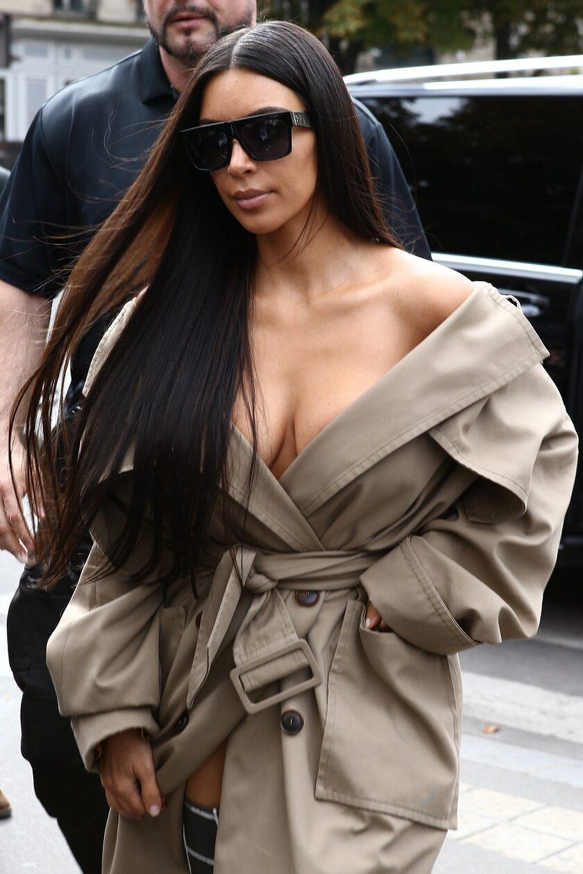 Kim Kardashian w Paryżu w 2016 roku