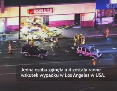 Straciła panowanie nad samochodem i wjechała w cukiernię w Los Angeles....