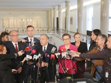 """Sześć ugrupowań opozycyjnych zadeklarowało współpracę. """"Będziemy bronić..."""