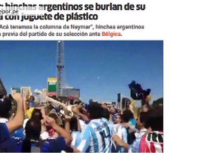 Argentyńczycy kpią z kontuzji Neymara