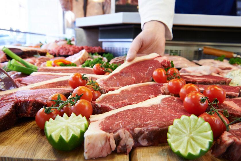 Sklep z mięsem, zdjęcie ilustracyjne