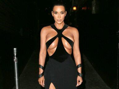 Kreacja Kim Kardashian wywołała skandal. Celebrytka pokazała zbyt wiele?