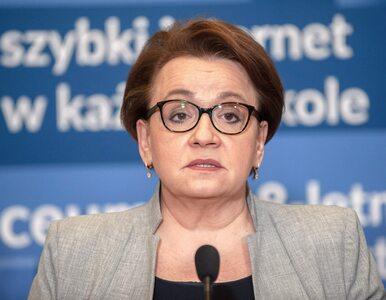 """Anna Zalewska o kolejnym spotkaniu ze związkowcami. """"Przychodzimy, bo..."""