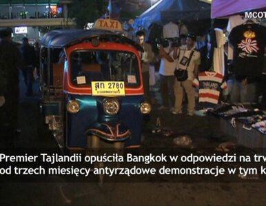 Eksplozja granatu w Tajlandii. Premier opuściła stolicę