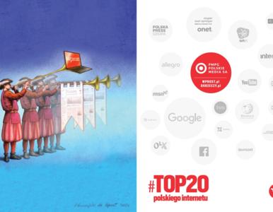 Jesteśmy w TOP20 polskiego internetu! Awans grupy PMPG Polskie Media S.A.