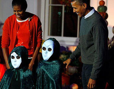 Halloween w Białym Domu - piraci, ciastka i para prezydencka