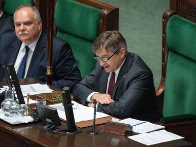 Sejm odrzucił wniosek o odwołanie marszałka Kuchcińskiego