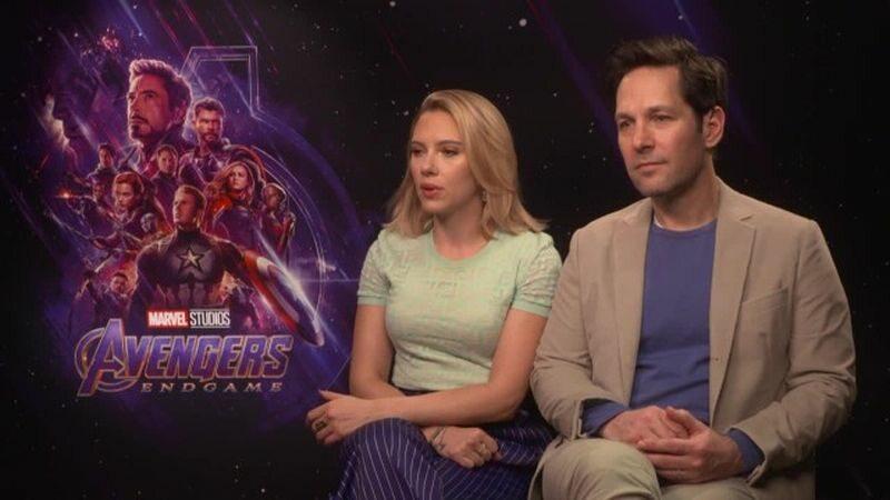 Scarlett Johansson i Paul Rudd
