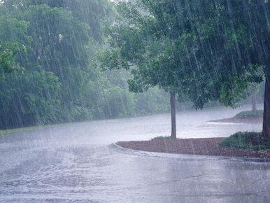 Uwaga na intensywne opady deszczu. IMGW wydał ostrzeżenia