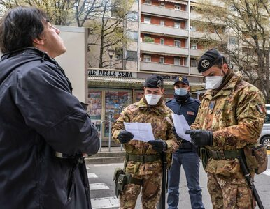 """Najnowsze dane z Włoch o koronawirusie. """"Jesteśmy na dobrej drodze"""""""