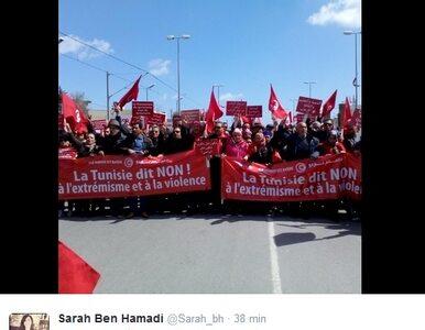 W Tunezji ruszył marsz przeciwko terroryzmowi. Tysiące ludzi na ulicach