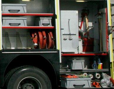 Rybnik: 45-latek oblał się w sklepie benzyną i podpalił