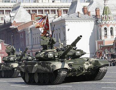 Czołgi na placu Czerwonym - Rosjanie świętują zwycięstwo nad Hitlerem