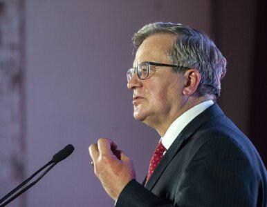 Bronisław Komorowski: Mam nadzieję, że Andrzej Duda stanie przed...