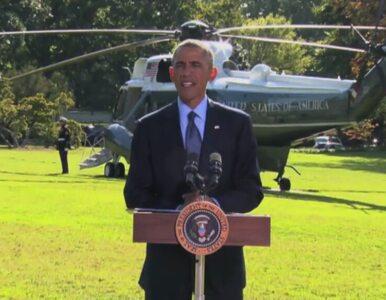 Obama o nalotach na pozycje islamistów: USA nie są osamotnione w walce