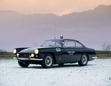Najsłynniejszy radiowóz trafił na aukcję. To Ferrari 250 GTE Polizia z...