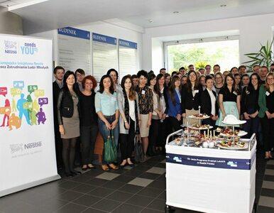 15 lat letnich praktyk dla studentów w Nestlé