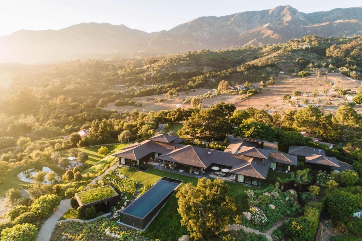 Dom Ellen DeGeneres w Montecito w Kalifornii