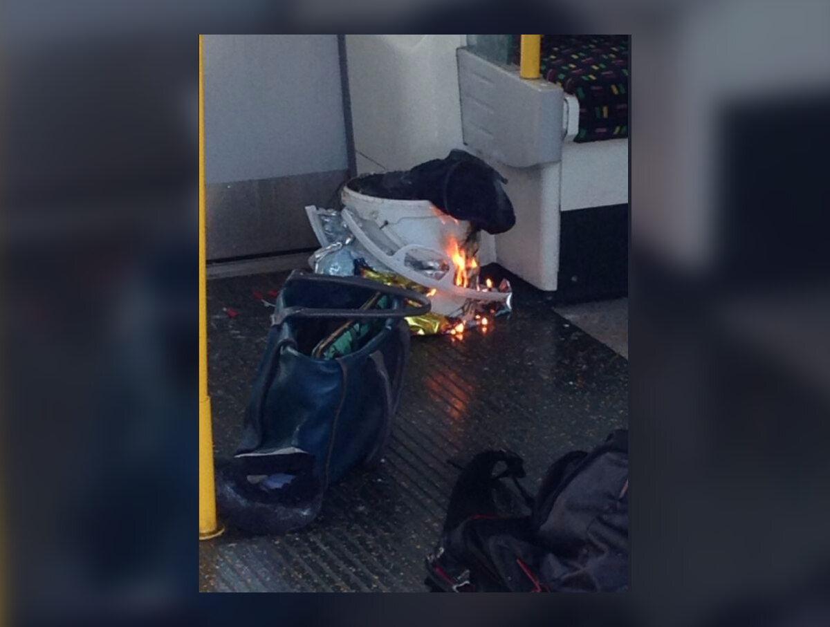 Londyn, wybuch na stacji metra