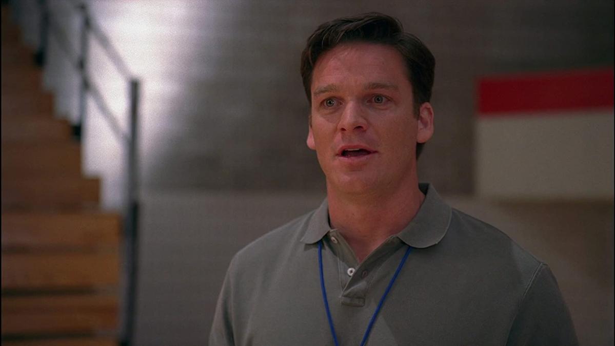 "Bart Johnson jako trener Jack Bolton w filmie ""High School Musical"" (2006)"