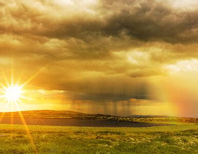 Niedziela gorąca z przelotnymi opadami deszczu. Podobna sytuacja w...